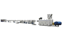 Small Diameter Fabrication PE Pipe Insulation Machine Extrusion Line
