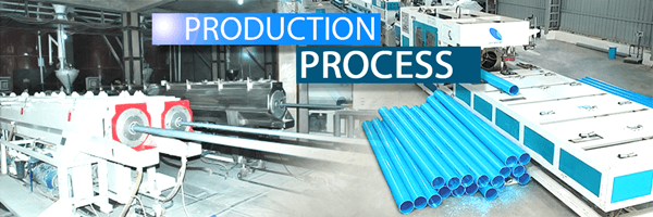 pvc pipe production process